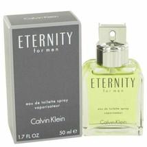 Cologne ETERNITY by Calvin Klein 1.7 oz Eau De Toilette Spray for Men - $28.64