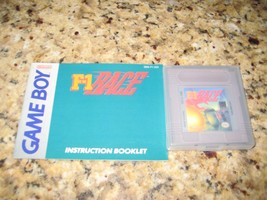 F-1 Race (Nintendo Game Boy, 1989) & Instruction Manual. - $13.85