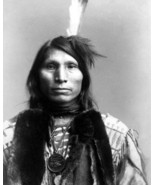 Chief Good Eagle Vintage 8X10 BW Native American Memorabilia Photo - $6.99