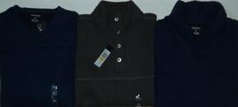 NEW Mens Van Heusen Sweater Fleece V-Neck, Mockneck or Shawl Collar MSRP... - $25.00