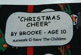Save The Children Collection Christmas Cheer Necktie Snowman Tree image 4