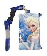 Disney Frozen Elsa KeyChain Lanyard Fastpass ID Ticket Holder Blue - $8.91