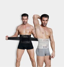 Waist Belt Men Slimming Body Shaper Corset Abdomen Shaperwear Trainer Ci... - $18.99