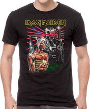 Iron Maiden-Terminate-Large Black  T-shirt - $19.34