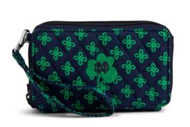 Vera Bradley Notre Dame Fighting Irish RFID Crossbody Wallet Purse Retai... - $41.00