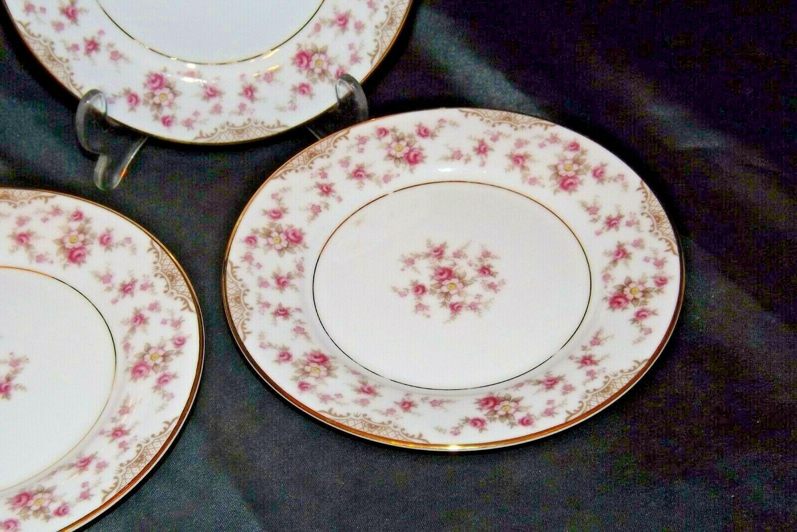Noritake China (8 – Dessert Plates) Charmaine 5506 AA20-2360C Vintage