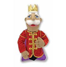 Melissa & and Doug KING PUPPET   - $21.99