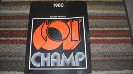 1980 Plymouth Champ Dodge Colt Service Repair Shop Workshop Manual OEM M... - $4.95