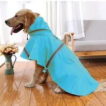 NACOCO Large Dog Raincoat Adjustable Pet Water Proof Clothes Lightweight... - $24.74