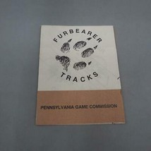 Vintage Furbearer Tracks Guide Pennsylvania Game Commission 1980's - $14.74