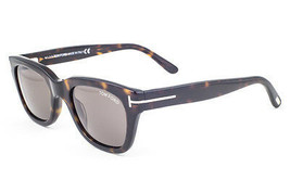 Tom Ford Snowdon Dark Havana / Brown Sunglasses TF237 52N 50mm - $214.62