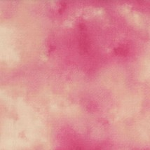 Danscapes par Dan Morris pour RJR Fabrics-Bty-Mottled Rose Shades-Great ... - $23.49