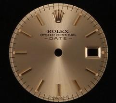 Original Rolex Lady Date Champagne Dial-Black Hour Stick Marks -T Swiss ... - $112.20