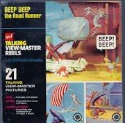 1973 GAF Talking View-Master Reel Beep Beep the Road Runner - $98.99