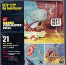 1973 GAF Talking View-Master Reel Beep Beep the Road Runner - $98.99