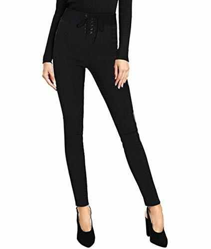 HyBrid & Company Women Super Comfy Stretch Pull On Pants P47908SK Black XL