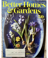 BETTER HOMES & GARDENS MAGAZINE February 2021 50+ Ideas for a Happy Heal... - $3.00