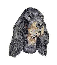 "Amazing Dog Faces[Gordon Setter ] Embroidery Iron On/Sew patch [5.8""x 4.... - $9.89"