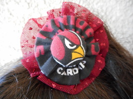 Arizona Cardinals Girls  Rubber Band Floret  - $5.00