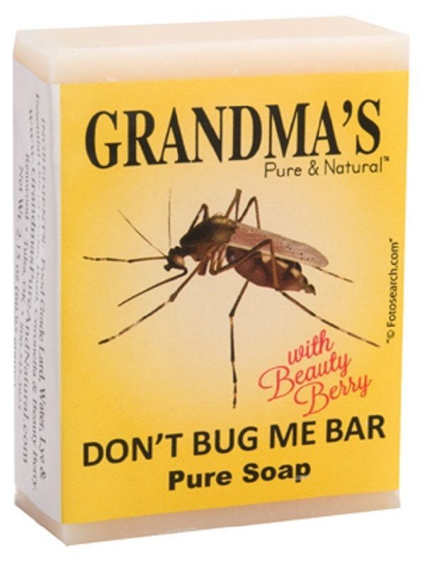 1 Bar of Grandmas Don't Bug Me 2.15 oz Repels Mosquitoes Effectively - $9.10