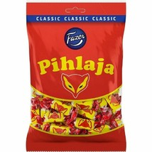 5-Pack Fazer Pihlaja - Fox - Fruity Jellies Candies Bag 220g - $29.69