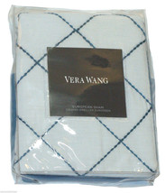 Vera Wang Shibori Euro Pillow Sham Blue White E... - $195.00