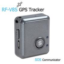 RF-V8S Mini Remote Listening GPS Tracker GSM GPRS Tracking Device & SOS ... - $58.79
