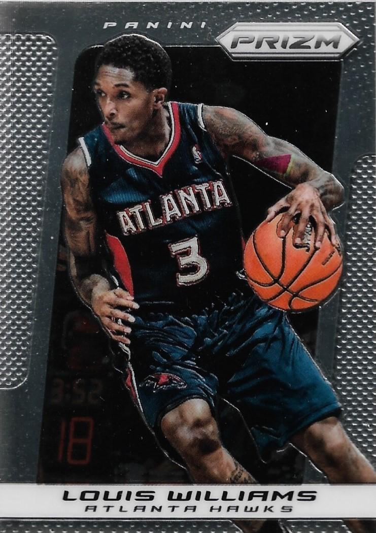 Lou Williams Prizm 13-14 #140 Atlanta Hawks Toronto Raptors Los Angeles Lakers