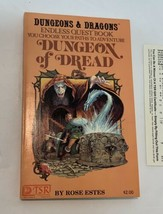 Endless Quest #1 - Dungeon of Dread - 1982 1st PB- TSR Rose Estes - $22.00