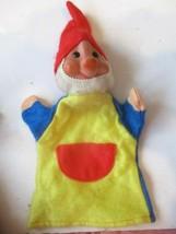 VTG Waltershausen Veb Spielwaren Elf Hand Puppet Made IN GDR CZECHOSLOVAkIA - $24.75