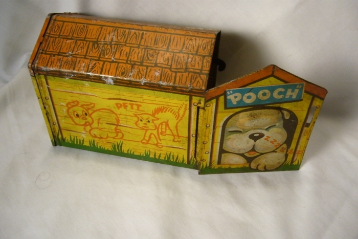 Vintage Tin Toy Pooch by Tot Tested Toys USA