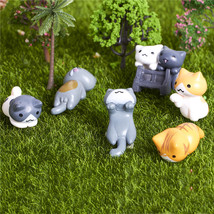 6PCS Cats Cartoon Landscape Cake Decorating Garden Craft Decorating Inte... - $8.00