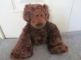 "GUND Philbin Teddy Bear Chocolate Brown 12"" Stuffed Animal Sitting Plush - $10.25"