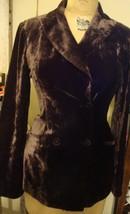 Bottega Veneta  made In Italy Brown Velvet Double Breasted Blazer NICE 40  - $198.04