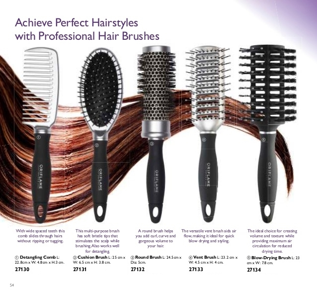 Detangling Comb original Oriflame HairX hair accessories care & shaping comb