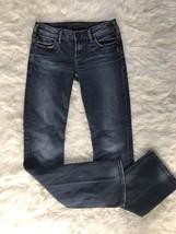Silver Jeans Toni Bootcut Women's 26 Medium Wash Denim Cotton Jeans Euc JD6 - $19.64