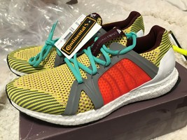 Adidas by Stella McCartney Ultra Boost Running Shoes Sneakers Yellow Mul... - $119.00
