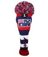 Majek Golf - Australia #1 & 3 Patriotic Driver Fairway Wood Pom Pom Head... - $21.59