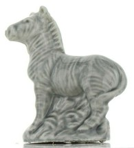 Zebra Miniature Porcelain Figurine - Whimsies by Wade
