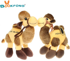 BOOKFONG 26CM Simulation Camel Plush Toy Doll Stuffed Animals Camels Plu... - $22.93