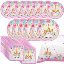 Shelling Home Birthday Party Supplies Including Plates Napkins Tablecove... - $18.72