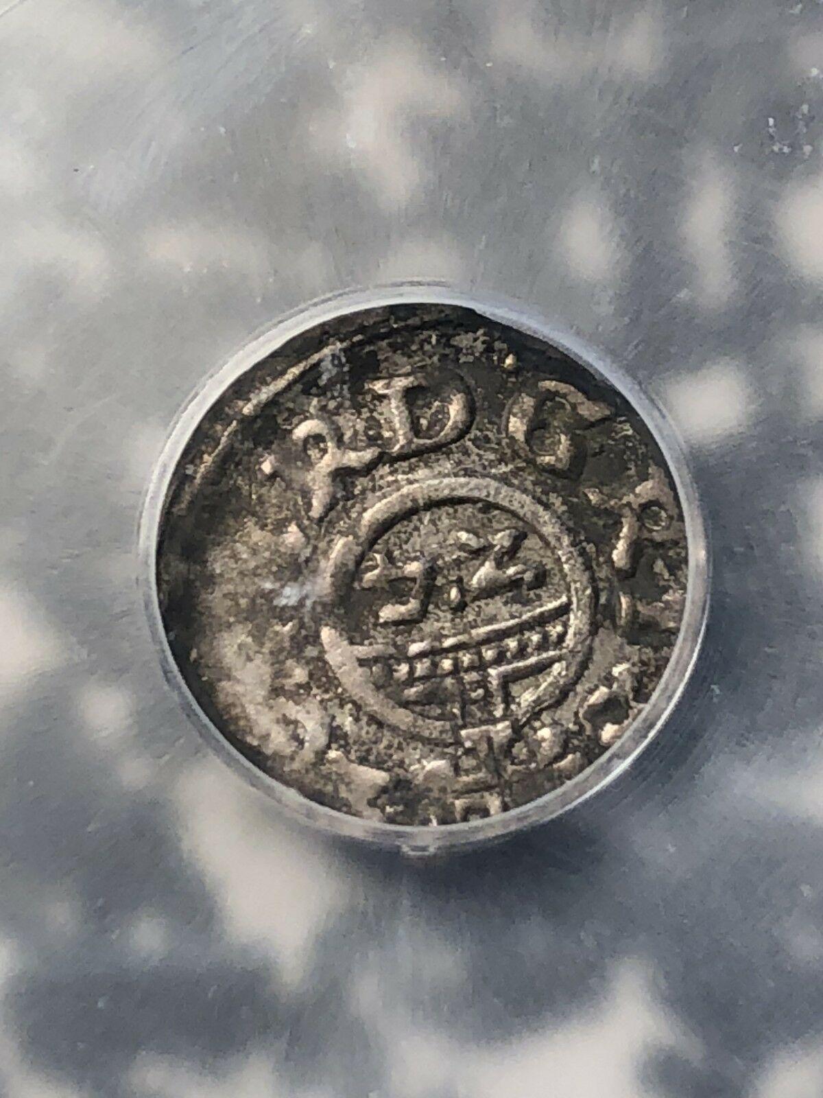 1620 Germania Brunswick-Wolfenbuttel 1/24 Thaler ICG Xf40 Lotto #G993 Argento!