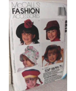 McCall's 6818 Fashion Accessories Floppy Hats Kids Girls Boys 10 Styles ... - $10.00