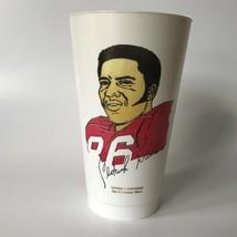 Cedrick Hardman San Francisco 49ers 1973 Vintage NFL 7-11 Slurpee Cup Amoco - $12.00