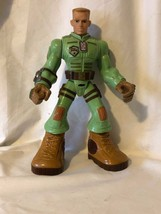 """Action Figure G.I. GI Joe 11"""" Tough Troopers Duke Talking Hasbro 2009 - $8.91"""