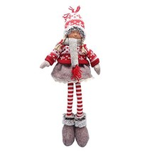 iGnome Handmade Christmas Gnome Decoration Girl and Boy Santa Tomte Swed... - $17.86