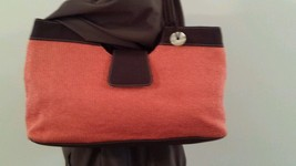 The Sak Handbag Peach with brown trim - $24.99