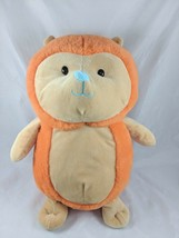 "Animal Adventure Orange Hedgehog Plush 14"" 2017 Stuffed Animal - $15.41"