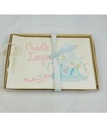 Vintage Cradle Days baby memory book scrapbook baby keepsake book baby s... - $24.21