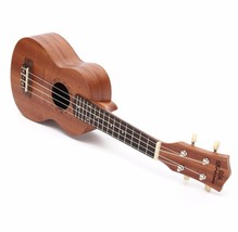 21 Inch Soprano Ukulele 12 Frets Beginners Daily Music Musical String In... - $44.78